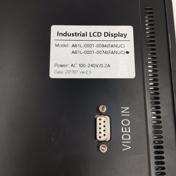 "A02B-0094-C061 14"" LCD DISPLAY REPLACE FANUC CNC SYSTEM CRT"